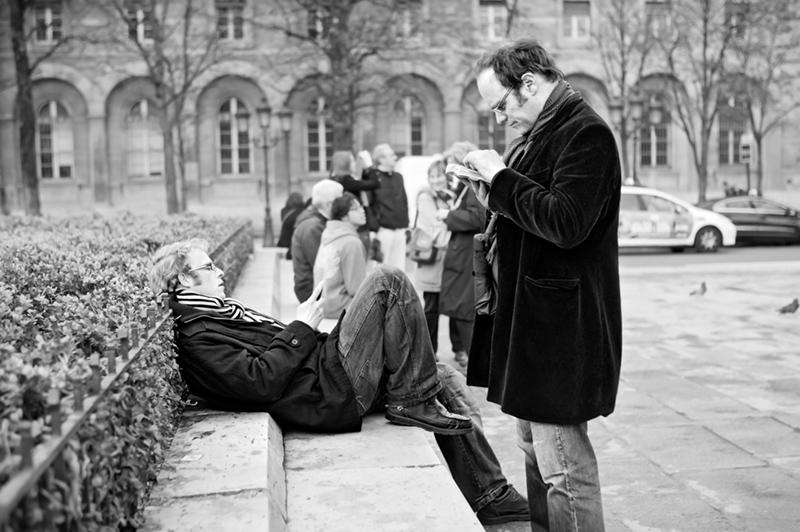 chillin near Notre Dame ©2010 Mikko Aaltonen