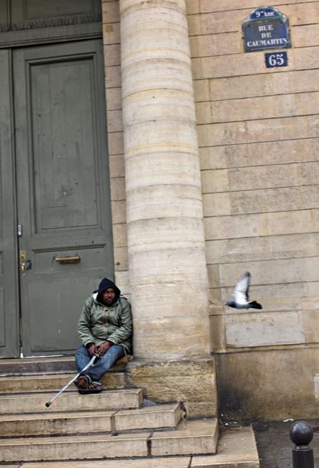 Pigeon hater ©2010 Mikko Aaltonen