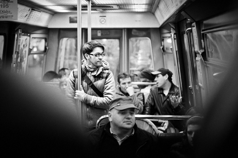 on the subway again ©2010 Mikko Aaltonen